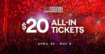 National Concert Week: Score $20 Tickets