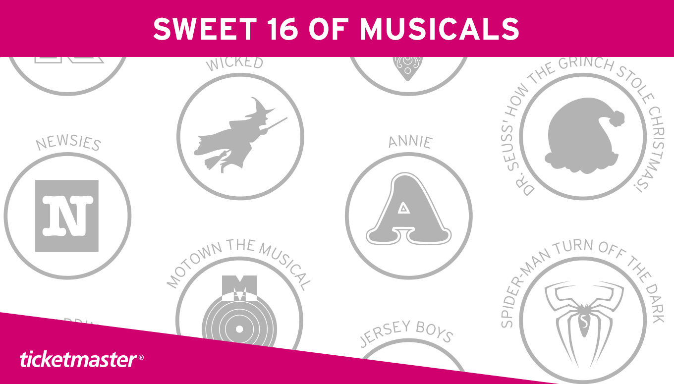 March Madness: Sweet 16 of Musicals [Infographic]