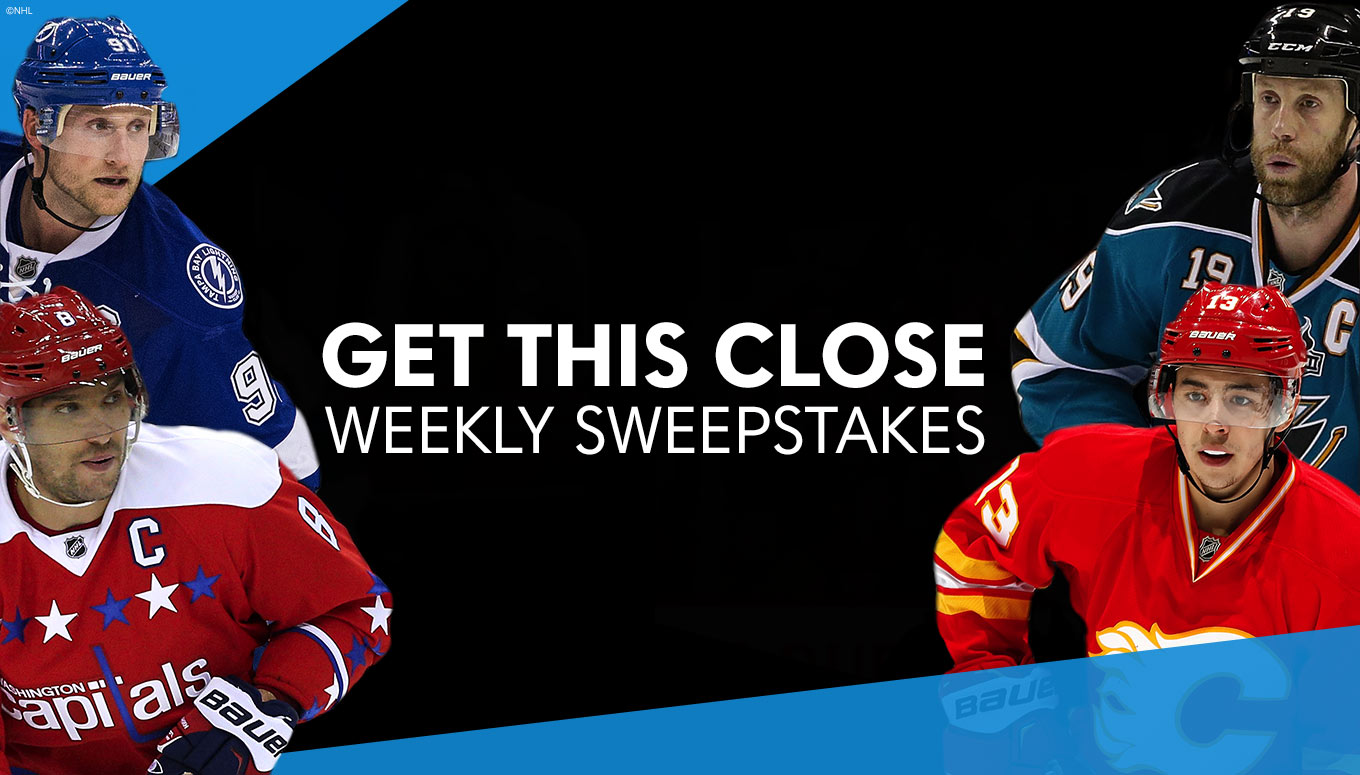 Score Free NHL® Tickets with the Get This Close Sweepstakes