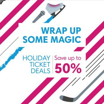 Holiday Ticket Deals: Save Up To 50% On Live Events Near You