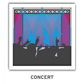 concert music emoji