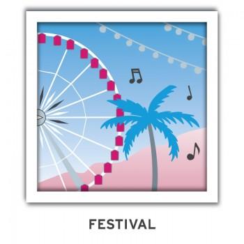 aerial music festival emoji