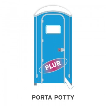 porta potty music festival emoji