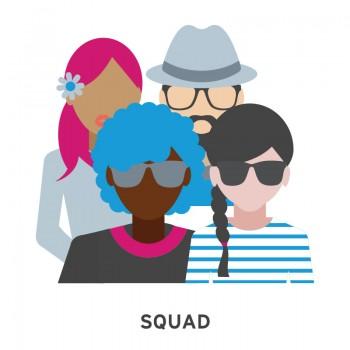 squad music festival emoji