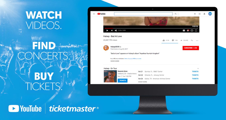 Ticketmaster x YouTube