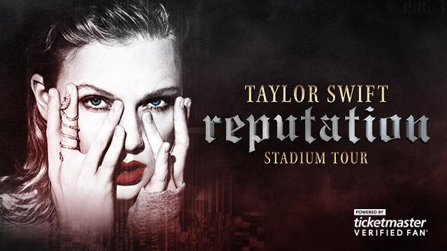 <i>Taylor Swift reputation Stadium Tour</i> Verified Fan Presale FAQ
