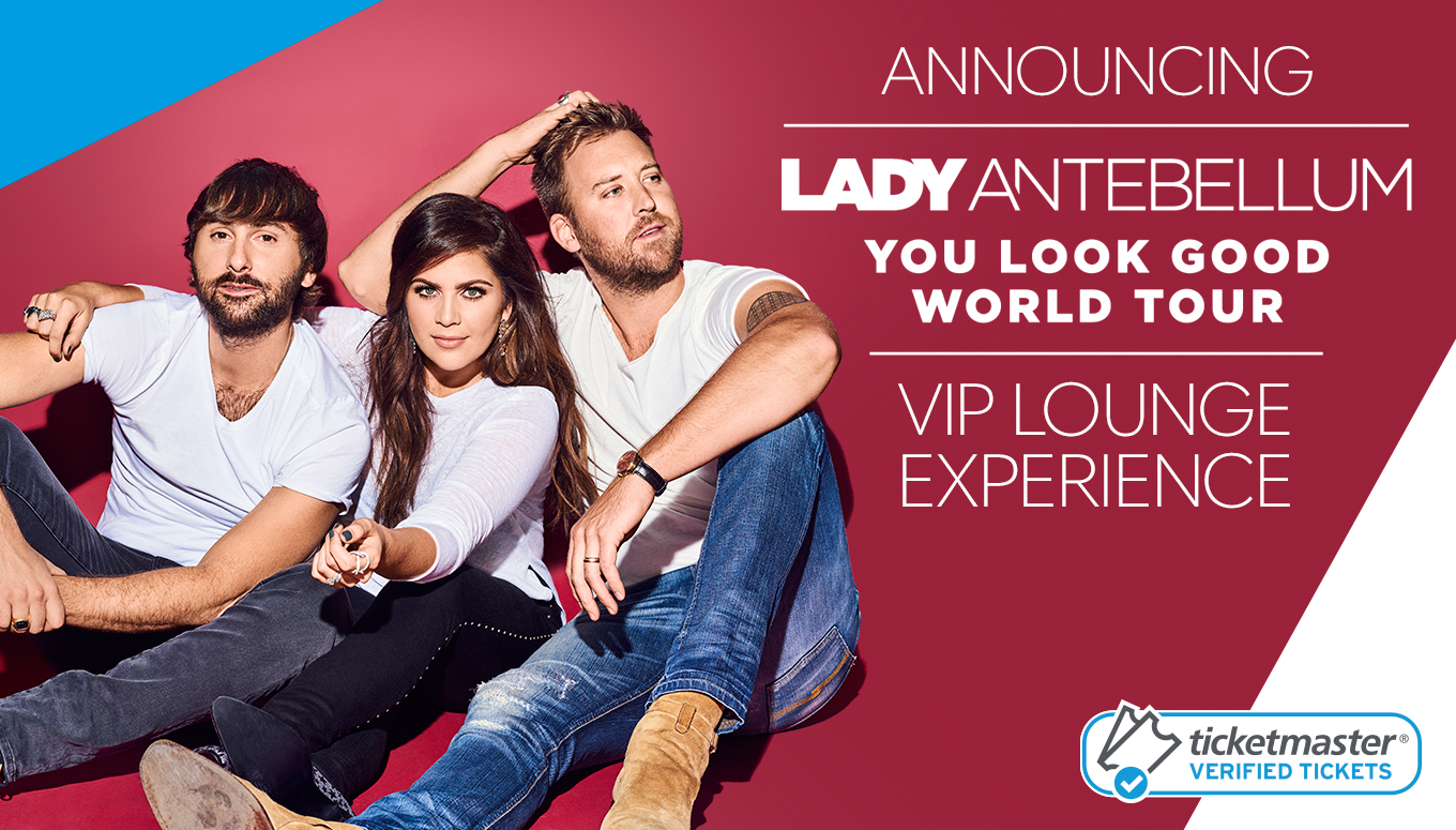 Lady Antebellum VIP Lounge Experience Giveaway  #YouLookGoodEntry