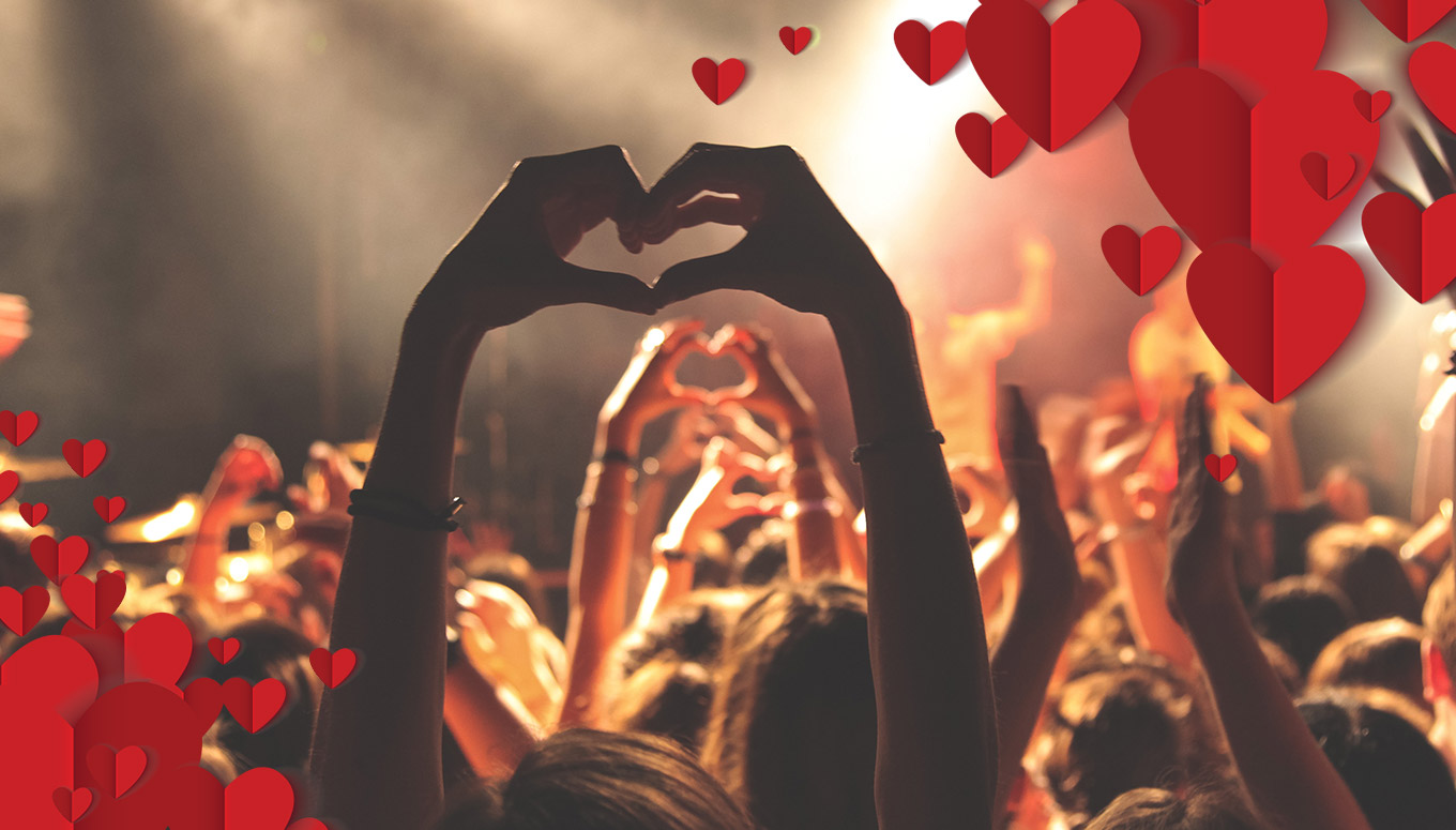 2 For 1 Concert Tickets: The Perfect Deal for Valentine's Day