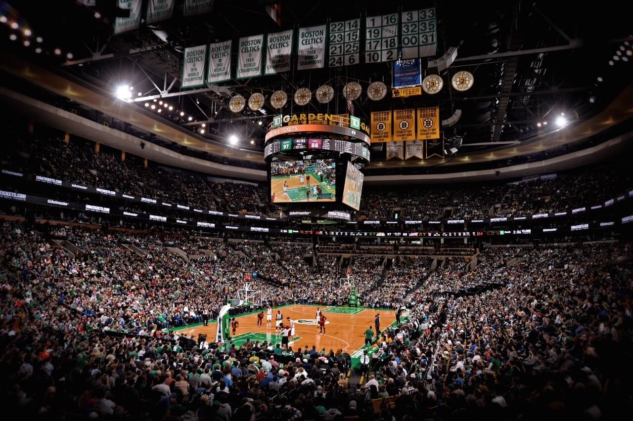 TD Garden Boston Celtics NBA Arenas & Venues Ticketmaster