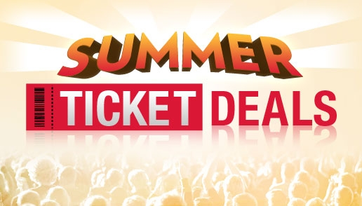 Ticketmaster Summer Ticket Deals