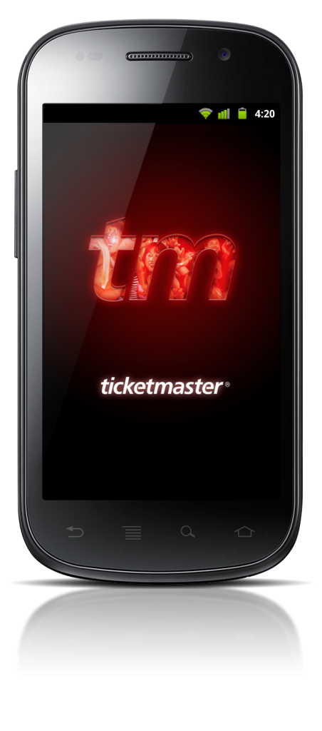 Ticketmaster's Android app