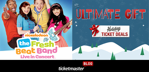 Ticketmaster December Sweepstakes
