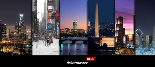 Hot Winter 2014 Events at Ticketmaster.com