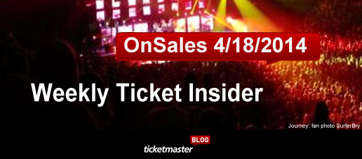 weekly tickets on sale aerosmith outside lands music festival at Ticketmaster
