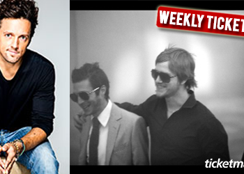 Weekly Ticket Insider - July 18, 2014 - Interpol and Jason Mraz Tickets