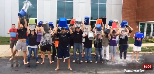 The Ice Bucket Challenge to Benefit the ALS Association