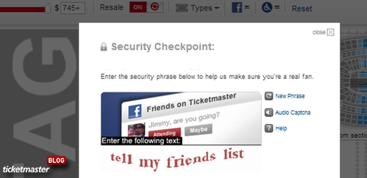 Captcha Tips - Get The Tickets You Want