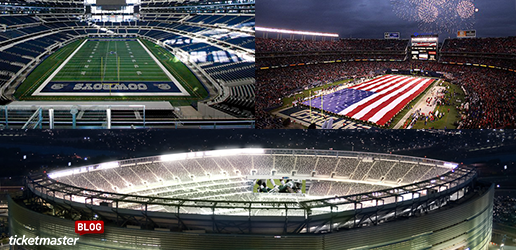 10 NFL Stadiums Ranked by Ticketmaster Fans