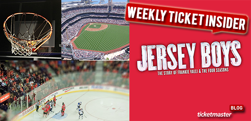 Ticket Insider Jersey Boys, NBA Basketball, NHL Hockey Tickets On Sale