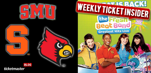weekly tickets on sale ticketmaster fresh beat band and football tickets