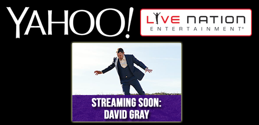 Watch David Gray Live from in Nashville