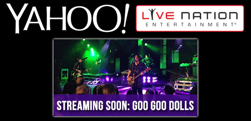 Catch the Goo Goo Dolls live from Susquehanna Bank Center in Camden, NJ on August 17.
