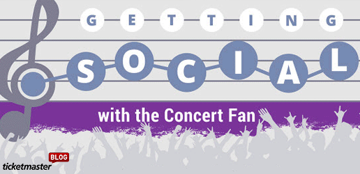 getting more social with the concert fan from ticketmaster