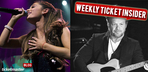 Ticketmaster Ticket Insider  Arianna Grande and John Mellencamp