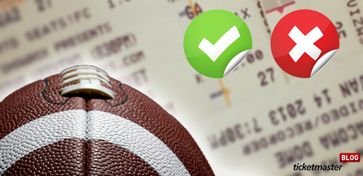 fake football ticket tips ticketmaster