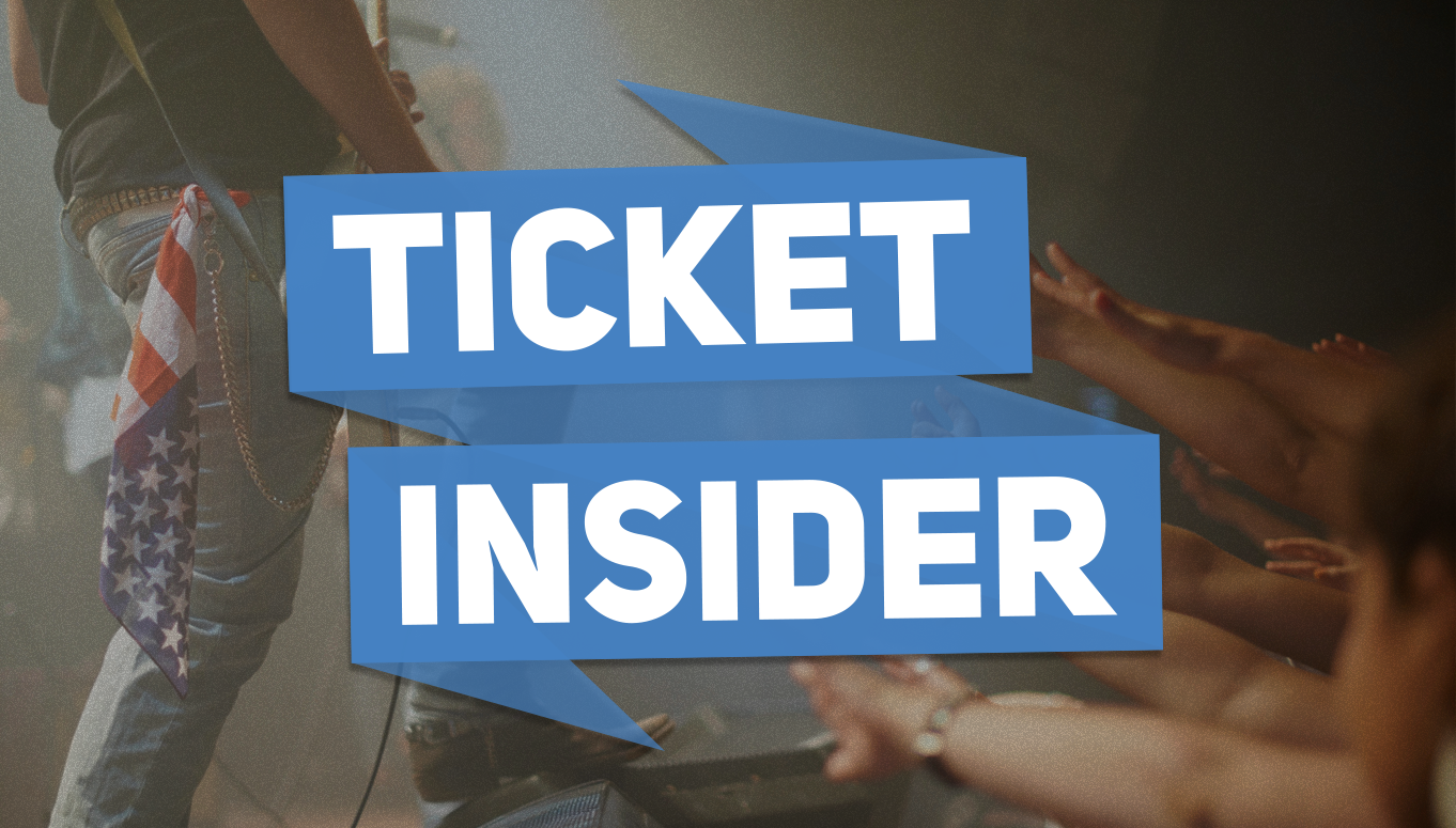 Ticket Insider tickets on sale