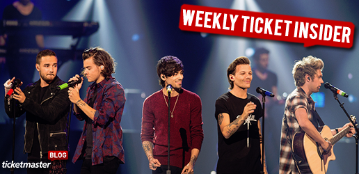 One Direction, Linkin Park, & Lady Gaga Tickets On Sale
