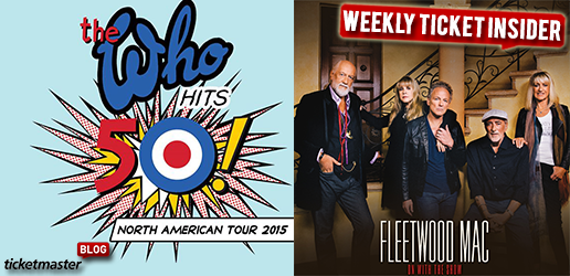 Ticket Insider - The Who, NBA, NHL & Fleetwood Mac Tickets On Sale