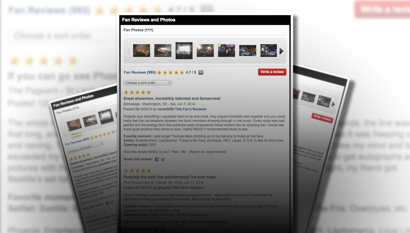 Ticketmaster Fan Reviews – Let Your Voice Be Heard