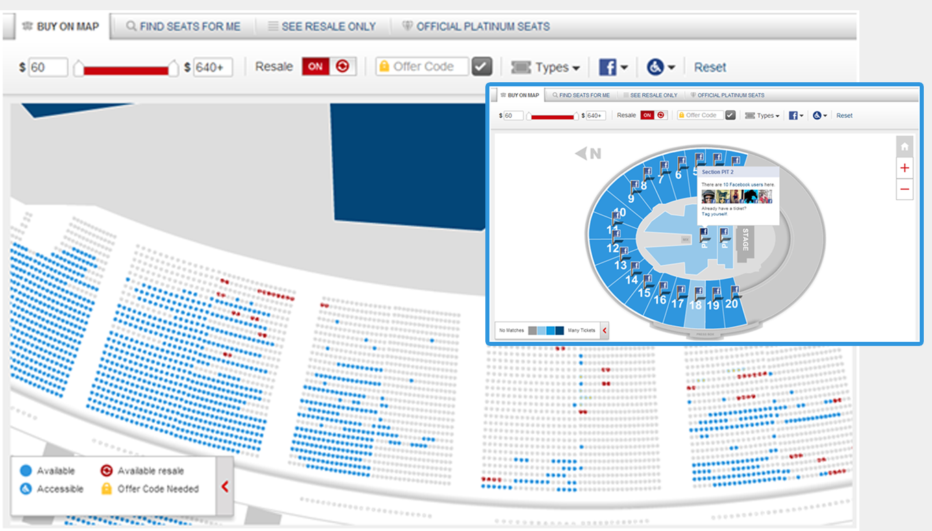 Socialize your next Live Event with Seat Tagging