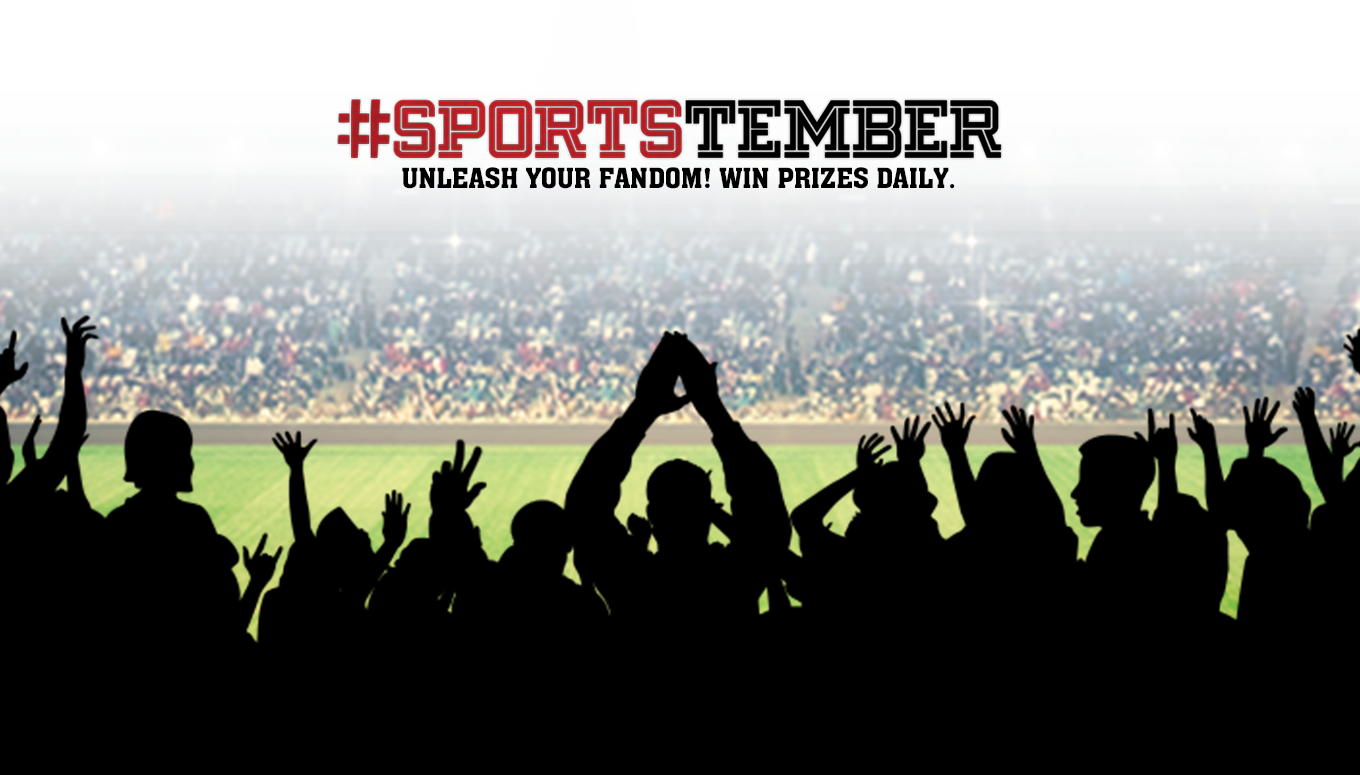 Unleash Your Sports Fandom with #Sportstember Daily Giveaways, Super Bowl Flyaway & More