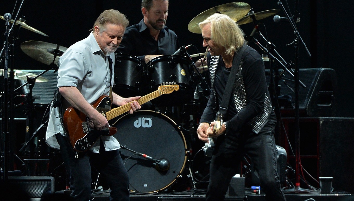 The Eagles bring back over 40 years of <br /> music on their History of the Eagles Tour