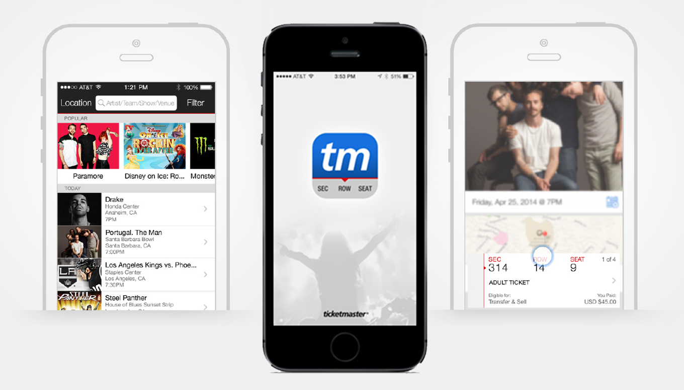 Ticketmaster Updates Mobile App & Fans Rejoice