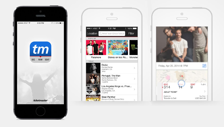 Ticketmaster Updates Mobile App & Fans Rejoice