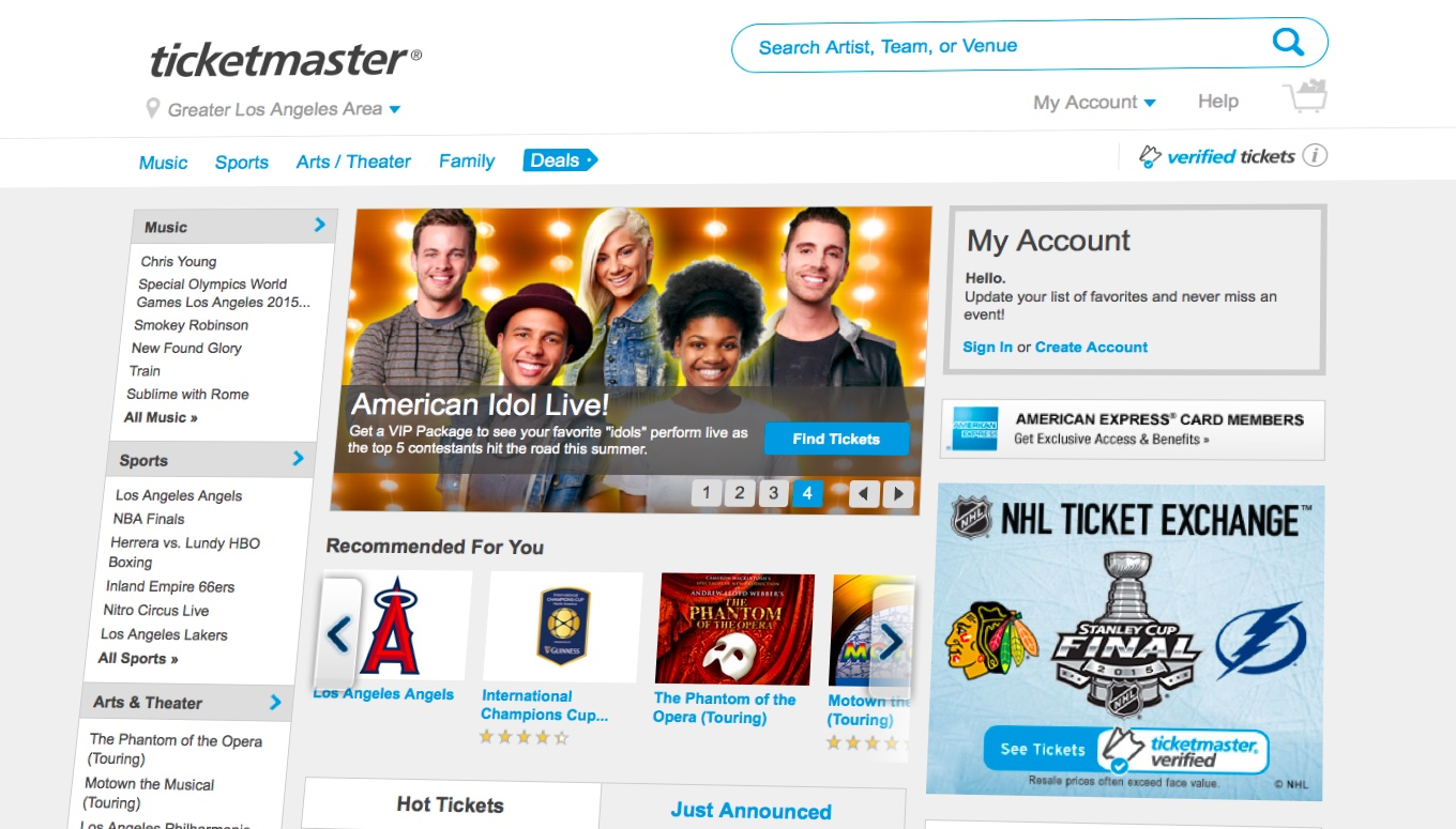 Notice Something Different? Ticketmaster Launches New Look