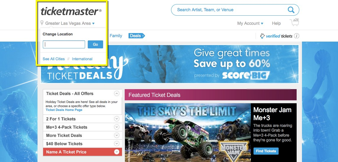 how to change ticket delivery on ticketmaster
