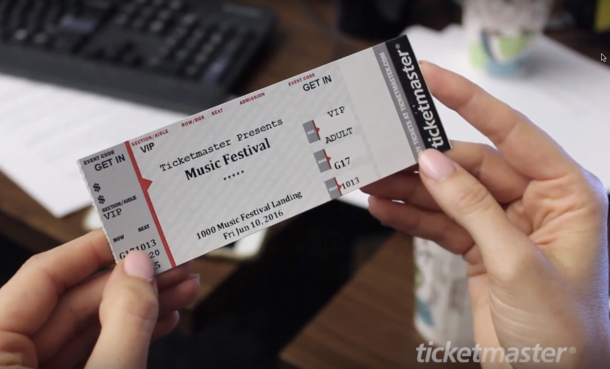 How To Give A Ticket As A Gift: 5 Creative Ticket Gifting Ideas Throughout How To Make A Concert Ticket