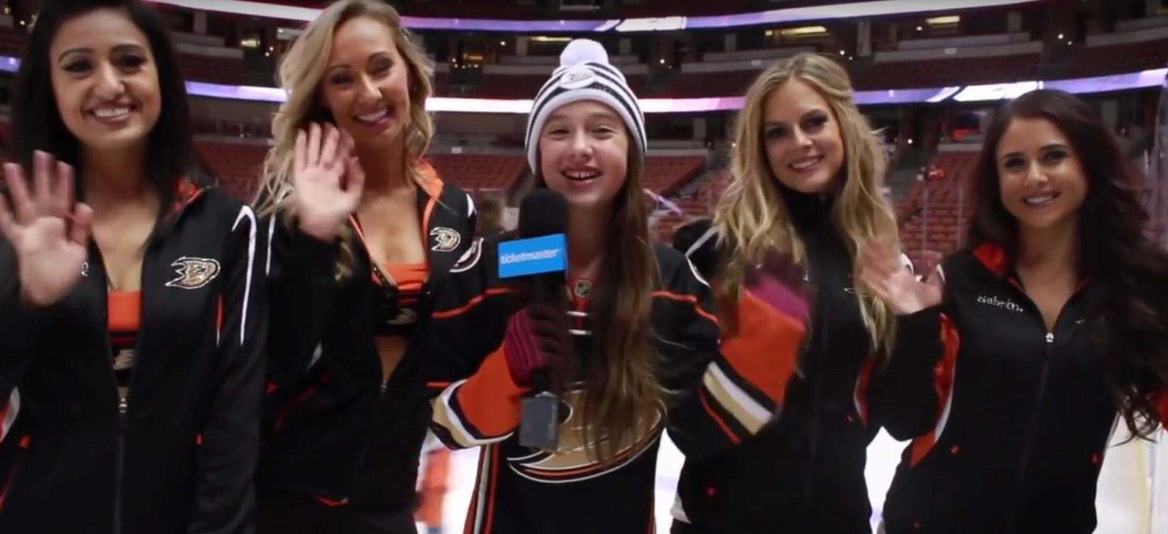 VIDEO: Minimaster Meets the Anaheim Ducks