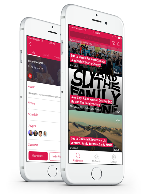 eventjoy-attendee-app-screenshot