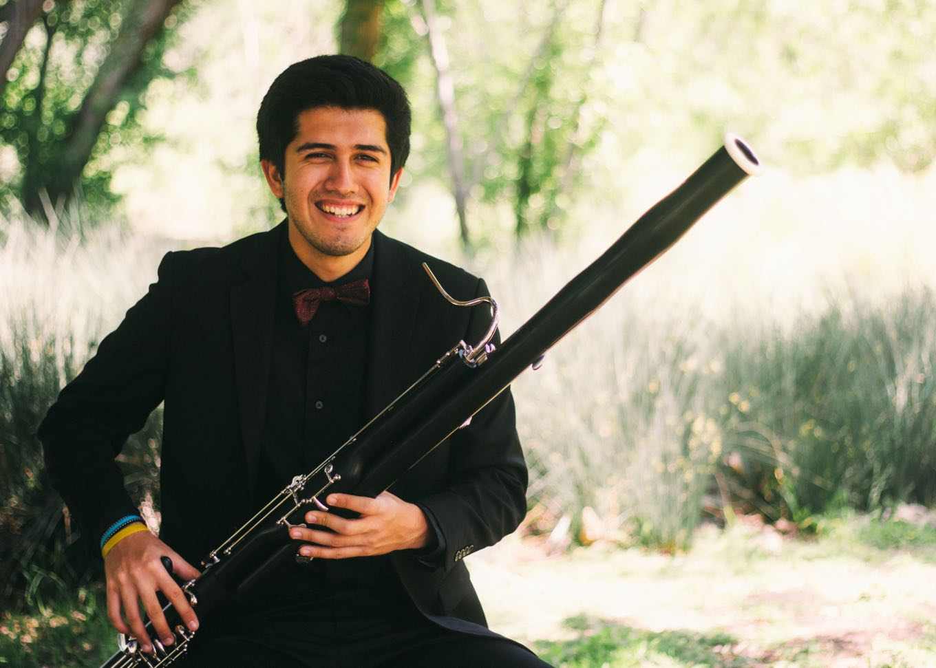 Michael B. a recipient of a bassoon from House of Blues Music Forward Foundation.