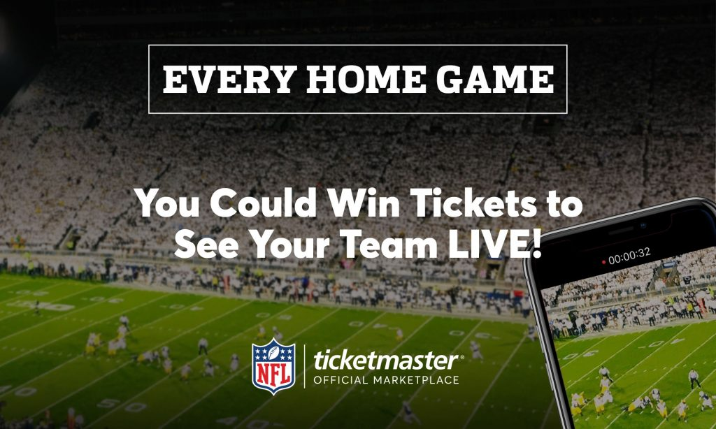 2d6a1c1d Here's Your Chance to Win NFL Home Team Season Tickets ...