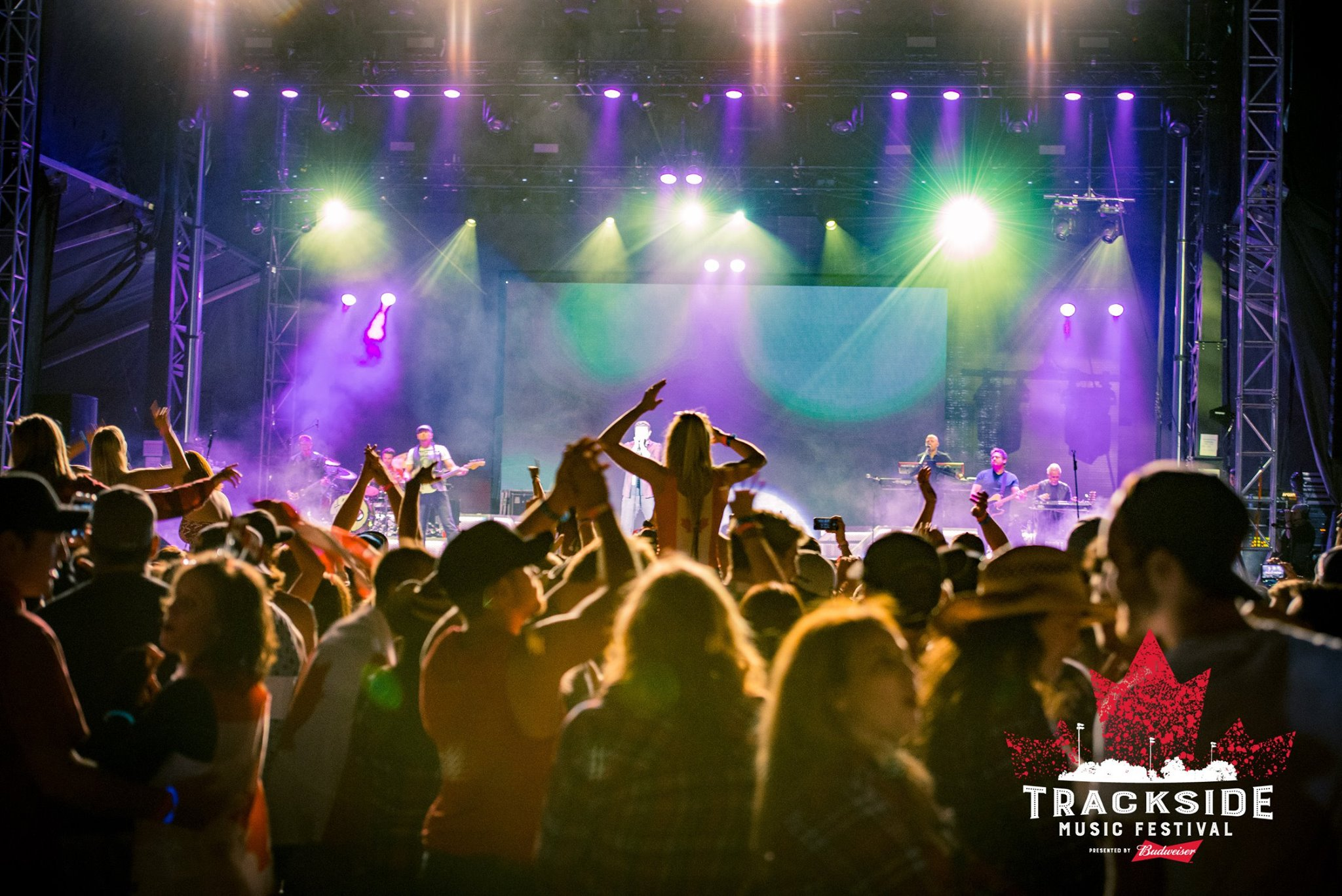 Kick It at Trackside Music Festival