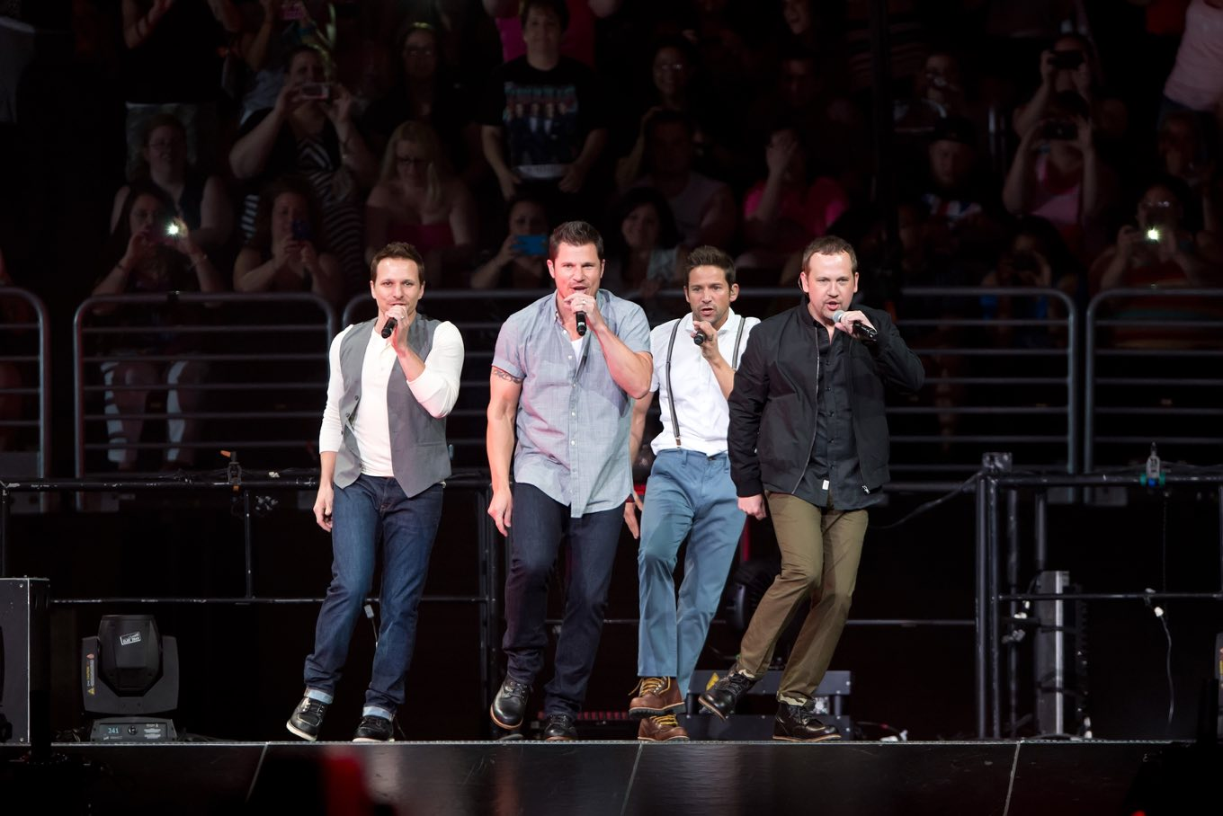 Backstage With 98 Degrees Before Their My2K Tour Kickoff
