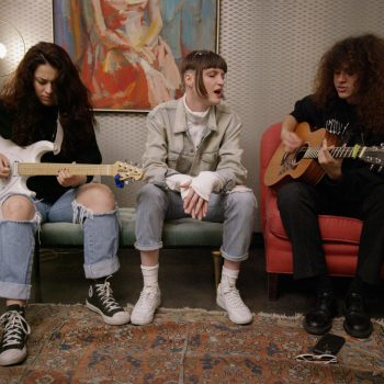 "Exclusive Performance: MUNA's Inspiring Rendition of ""I Know A Place"""