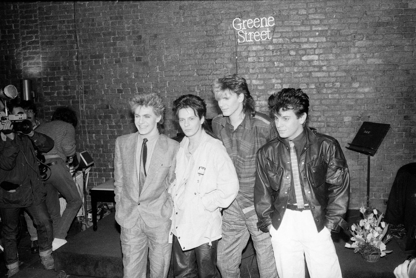 Duran Duran in 1984. New York, New York. (Photo by David Handschuh / Associated Press)