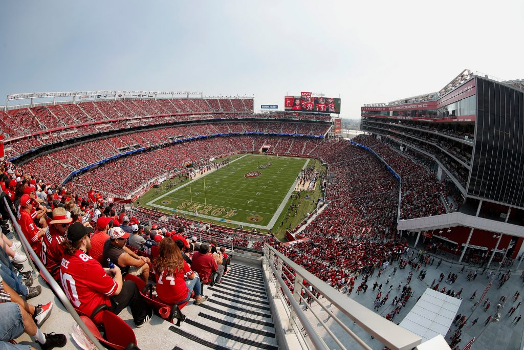 Levis Stadium Capacity >> Step Inside Levi S Stadium Home Of The San Francisco 49ers